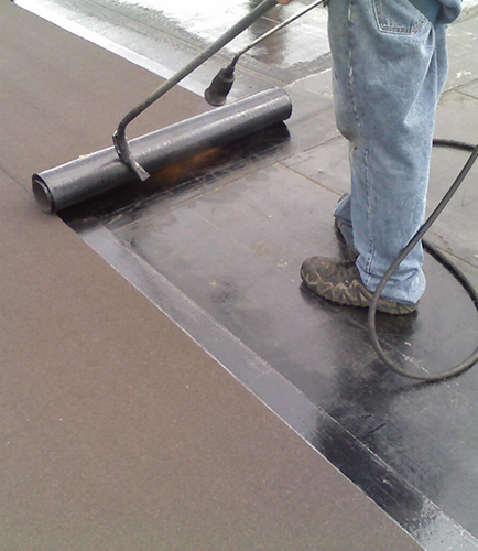 A Complete Guide To Commercial Flat Roofing Systems Materials Iko