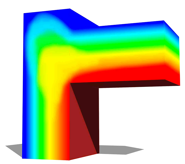parapet without thermal break