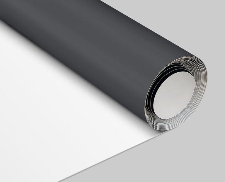 Roll of TPO membrane used in mechanically attached roofing systems