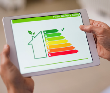 Home Energy Efficiency Rating chart