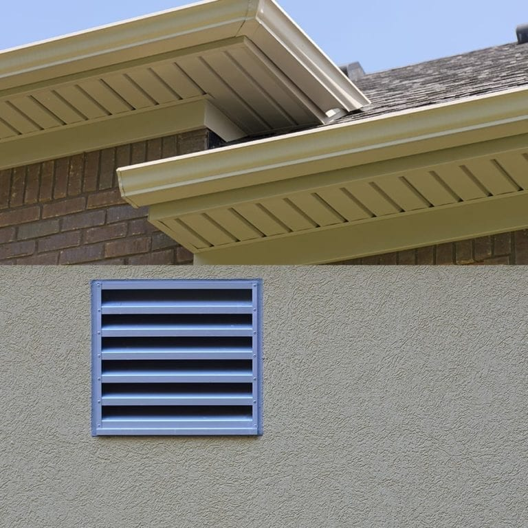 intake soffit vents
