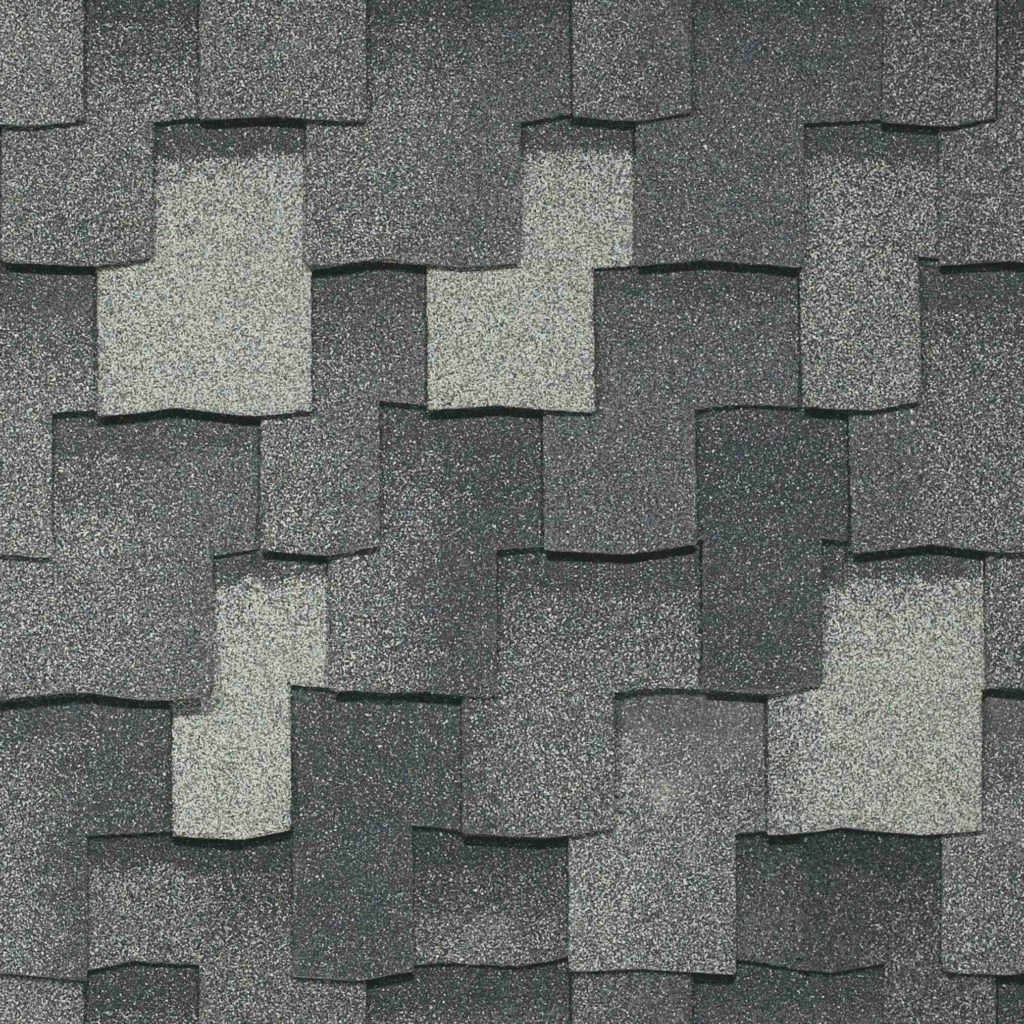 IKO Shingles Armourshake -Greystone color blend