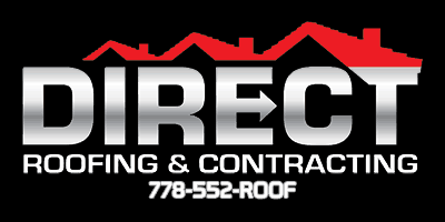 Direct Roofing & contracting Business Name and Logo