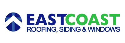 East Coast Roofing Siding and Windows Business Name and Logo