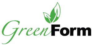 Green Form Business Name and Logo