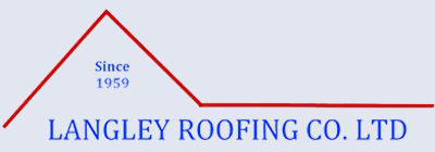 Langley Roofing Co. LTD Business Name and Logo