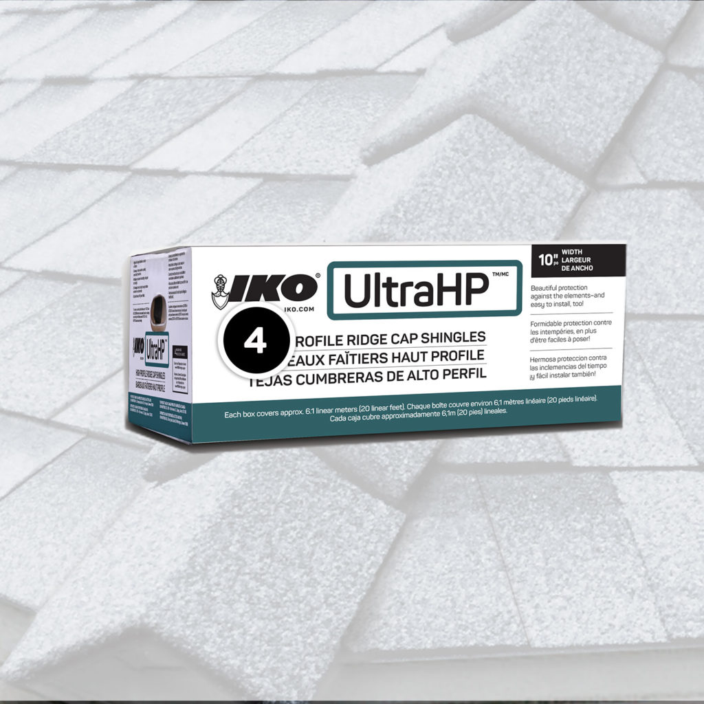 IKO Ultra HP ridge cap shingle information