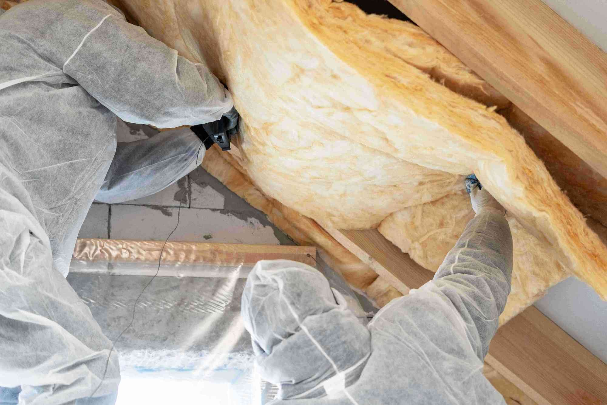 attic roof insulation