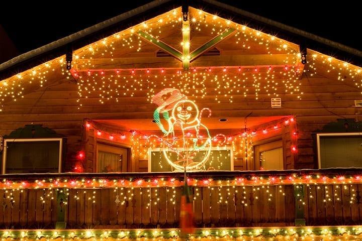 How To Hang Christmas Lights On A Roof Peak Holiday Light