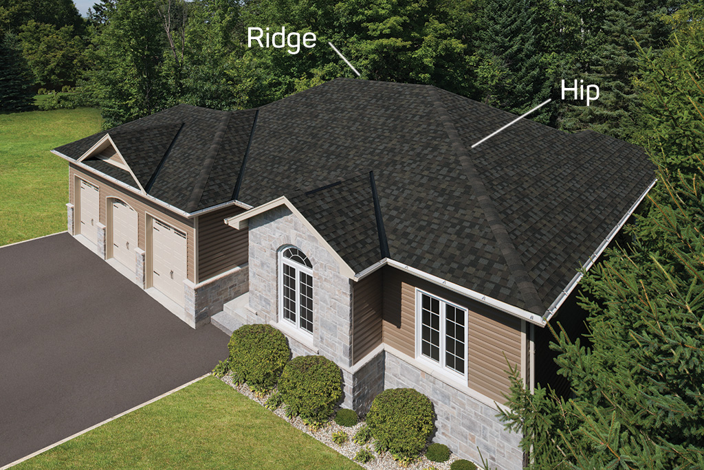 Hip Roof Vs Gable Roof Roof Design Advantages Disadvantages Iko