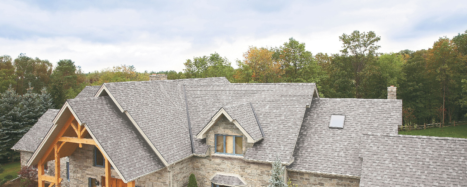 white or grey roof shingle colors are more reflective are a good match for homes that need to be Title 24 Compliant in Calif.
