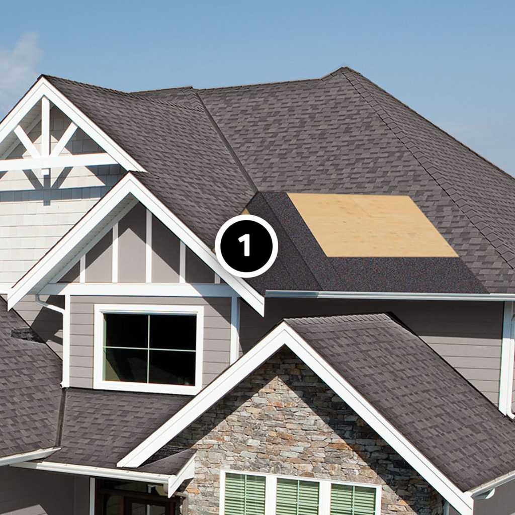roof underlayment in roof valley and over eaves